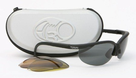 H3O Tsunami Angler Fishing Sunglasses with 3 Replaceable Polarized Lenses