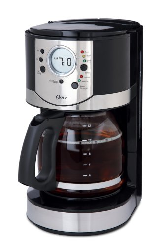Oster 12 cup Programmable Coffee Maker (Black)