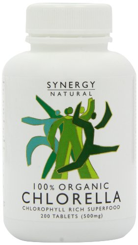Synergy Natural Organic Chlorella - 200 tablets