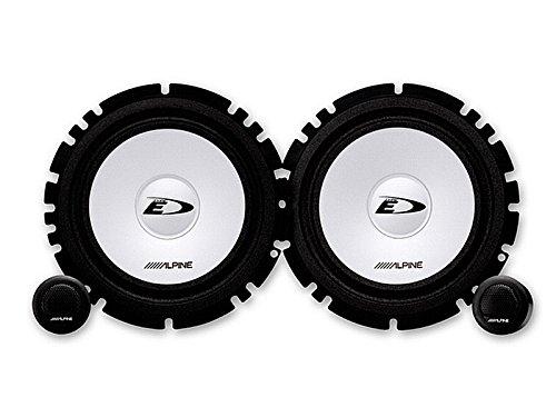 Alpine-Auto-Lautsprecher-Kompo-System-200-Watt-Renault-Twingo-II-III-ab-2007-Einbauort-vorne-Tren-hinten