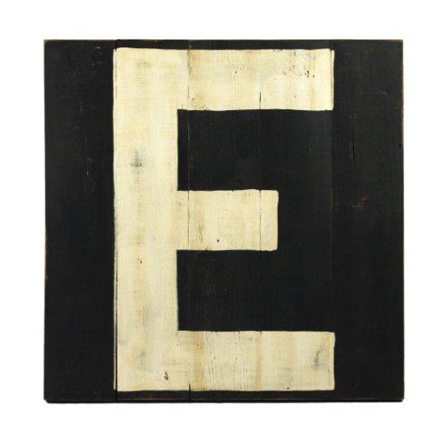ZENTIQUE Wooden Letter, Monogrammed E - 1