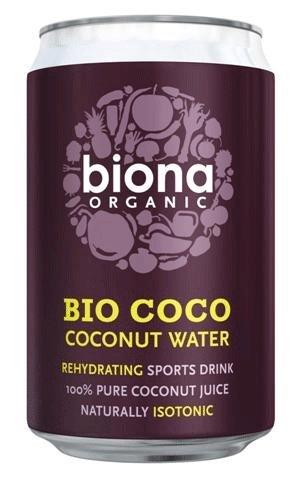 Organic Coconut Water (Biona) 300ml x12