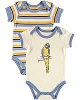 Hudson Baby Organic Bodysuits 2 Pack