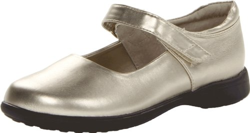 Jumping Jacks Abby Mary Jane (Toddler/Little Kid/Big Kid),Soft Gold Metallic,9 M US Toddler