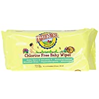 Earth's Best Chlorine-Free Wipes, Refill Pack, 864 Count