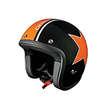 Casque origine primo astro noir brillant/orange m - Origine OR001044