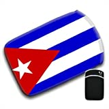 Cuba Flag For Amazon Kindle Fire & Kindle 3G Keyboard Soft Protection Neoprene Case Cover Sleeve Bag With Pocket which is Ideal for Headphones, Data Cable etc