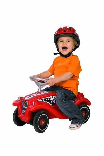 Imagen principal de BIG 56066 Bobby Car Classic Racing - Coche de carreras infantil (con casco), color rojo