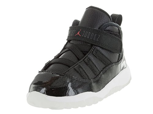 Nike Jordan Toddlers Jordan 11 Retro Bt Black/Gym Red/White/Anthracite Basketball Shoe 5 Infants US