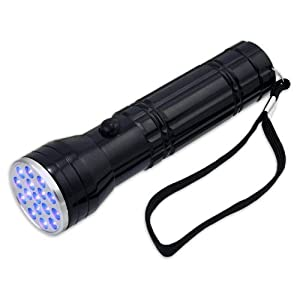 Professional UV Inspection Flashlight 380-385nm - 16 Ultraviolet LED