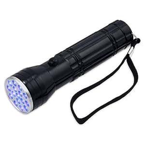 Professional UV Inspection Flashlight 380-385nm - 16 Ultraviolet LED
