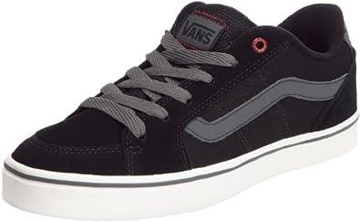 Vans Transistor VKXT6C3, Herren Klassische Sneakers, Schwarz ((Sketch Check) black/white), EU 38.5 (US 6.5)