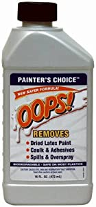 Homax Products 2275 Oops Painter's Choice Water-Based Paint Remover, 1-Pt. - Quantity 6
