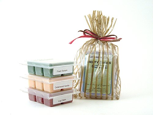 Cabin Retreat 3pk Melty Cube Scented Wax Melt