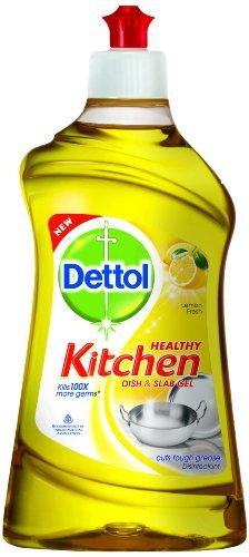 Dettol Kitchen Dish And Slab Gel 750 Ml Lemon Fresh