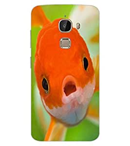ColourCraft Cute Fish Design Back Case Cover for LeEco Le 2 Pro