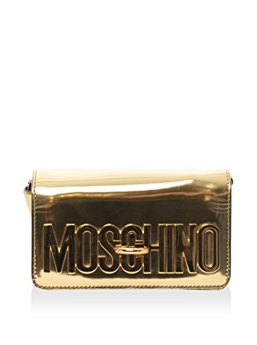 Moschino Women's Clutch Bag, Gold