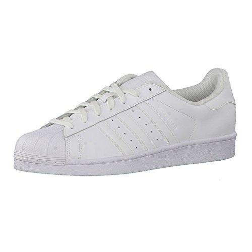 adidas-Superstar-Foundation-Zapatillas-de-deporte-Hombre-Blanco-Azul-Marino-Rojo