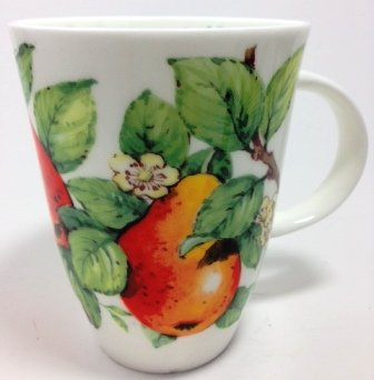 Roy Kirkham Mellow Fruits Pear Fine Bone China Mug