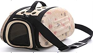 "Airline Approved Pet Carrier For Small Dogs And Cats - Convenient 12.5""x8.5""x8"" Under Seat Design - By Paw Pals"