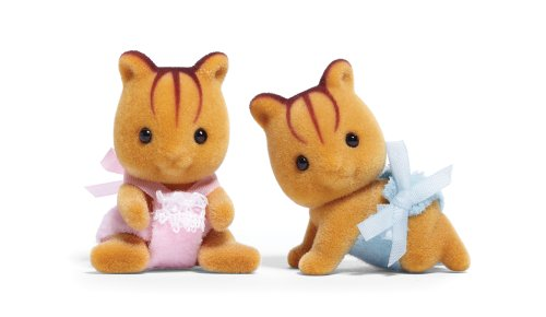 Calico Critters Furbanks Squirrel Twins - 1