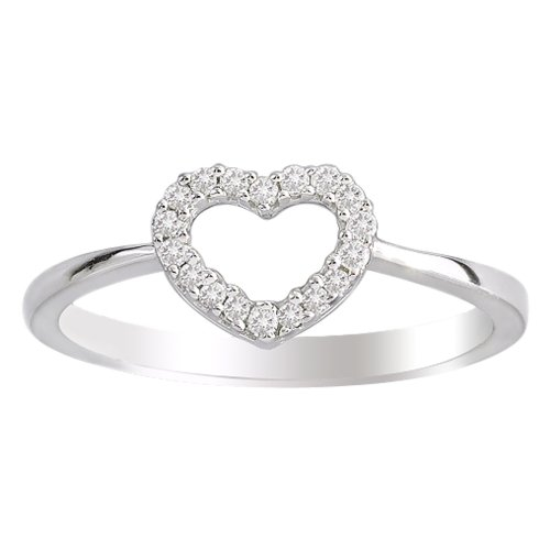 jewelry rings cheap 14k white gold ring 1