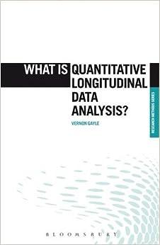 Data analysis procedures in quantitative research