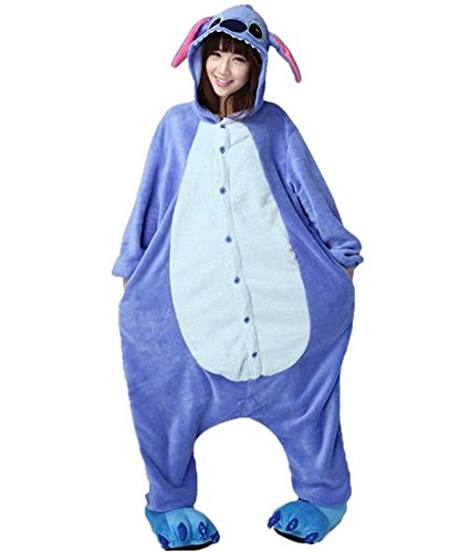 Bingirl New Kigurumi Pajamas Anime Cosplay Costume Unisex Adult Onesie Dress