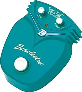 Danelectro DJ-9 Surf & Turf Compressor Mini Effects Pedal