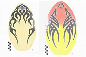 """35"""" SKIMBOARD TRIBAL DESIGNS - 2 ASSORTED / ONLY 1 SUPPLIED"""