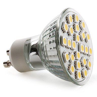 Luo Gu10 3.5W 24X5050 Smd 130-150Lm 2800-3200K Warm White Light Led Spot Bulb (230V)