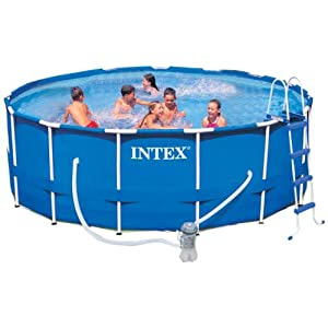 pool intex intex 12 58972 leiter ohne plattform f r pools mit 91 cm h he. Black Bedroom Furniture Sets. Home Design Ideas