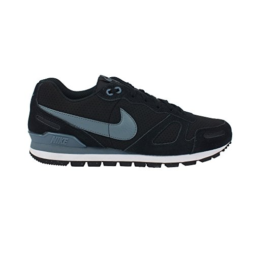 454395 049|Nike Air Waffle Trainer Leather Black |47,5