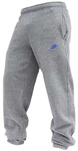 Nike Fleece Cuffed Herren Jogginghose, Grau/Blau, 372754-063, Größe S