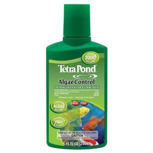 tetra-pond-77186-algae-control-250ml-treats-3000-gallon-algae-treatment