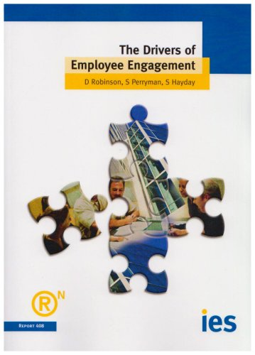 The Drivers of Employee Engagement (Ies Report 408)