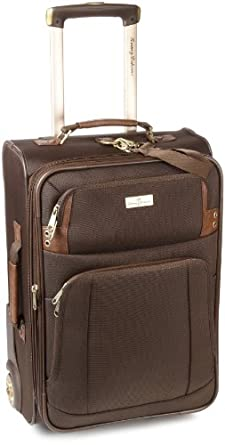 Tommy Bahama Luggage Harbor 21 Inch Rolling Expandable, Brown, One Size
