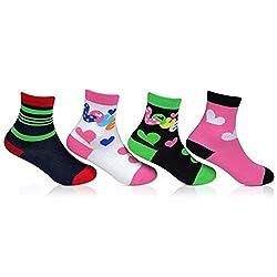 Bonjour Fancy Cotton 4 Pair Socks for kids_BRO702-02-PO4