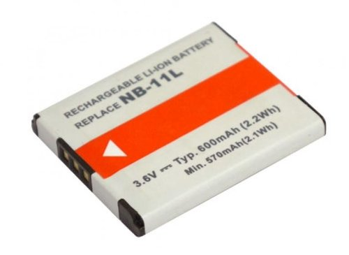 PowerSmart® Digitalkamera Akku Ersatz für Canon IXUS 125 HS, IXUS 240 HS, IXUS 245 HS, IXY 220F, IXY 420F, IXY 430F, passen Teilenummer NB-11L 3,60V, 600mAh