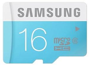 Samsung Carte Mémoire Standard MicroSDHC Classe 6 MB-MS16D/EU 16 Go