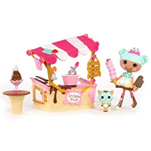 Mini Lalaloopsy Playset - Scoops Serves Ice Cream