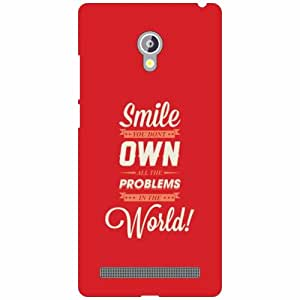 Printland Smile Phone Cover For Asus Zenfone 6 A601CG