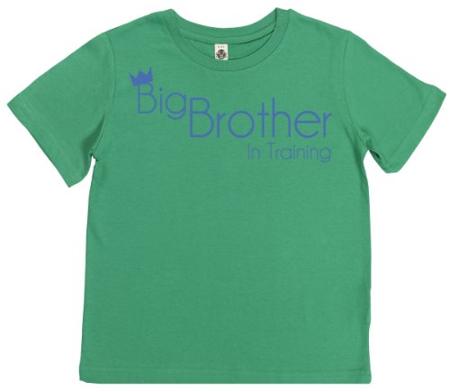 Phunky Buddha - Big Brother Training Children'S Top 5-6 Yrs - Green front-548766