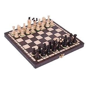 Large Chess Set The Kasbah Unique Wood Chess Set W