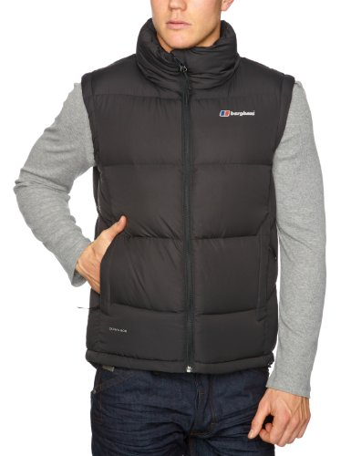 Berghaus Akka Down Men's Vest - Black, X-Large