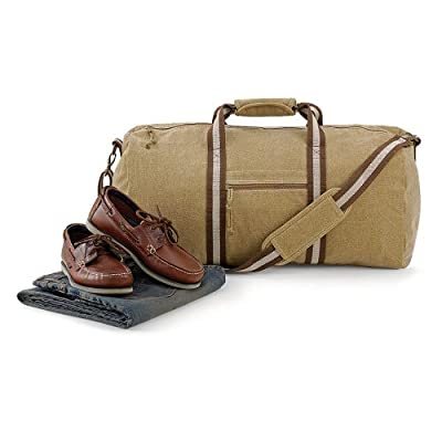 Quadra Desert Canvas Holdall Travel Bag