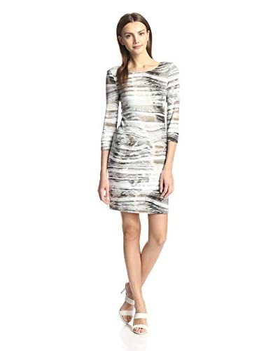 A.B.S. by Allen Schwartz Women's Printed Sheath
