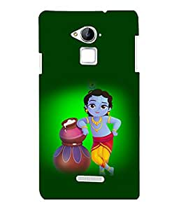 printtech Lord God Krishna Back Case Cover for Coolpad Note 3 Lite