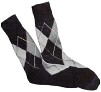 #1671 MENS ARGYLE SOCKS VINTAGE KNITTING PATTERN - Kindle edition by Pri...