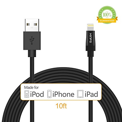 mfi-certifiedkinpsr-apple-certified-10ft-3m-extra-long-8-pin-lightning-cable-usb-cable-sync-charger-